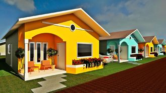 China Professional Design Prefab Bungalow Homes Small Modern Modular Homes supplier