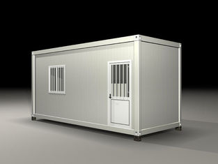 China Earthquake Resist Movable Shipping Prefab Container Homes With Solar Panel System supplier