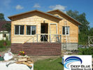 China Prefabricated House Kits House , Light Steel Structure Wooden House , Different Color Ceiling factory